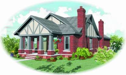 3 Bed, 2 Bath, 2293 Square Foot House Plan - #053-01542