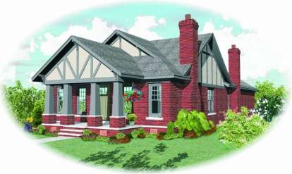 3 Bed, 2 Bath, 2351 Square Foot House Plan - #053-01550