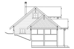 Cabin House Plan #035-00271 Additional Photo