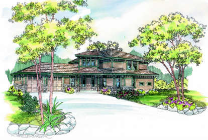3 Bed, 3 Bath, 2120 Square Foot House Plan - #035-00278