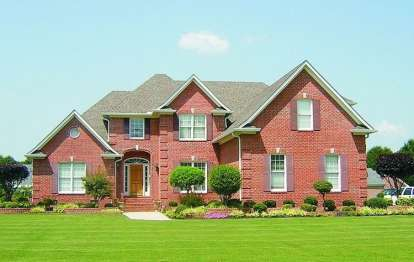 4 Bed, 3 Bath, 3671 Square Foot House Plan - #053-01753