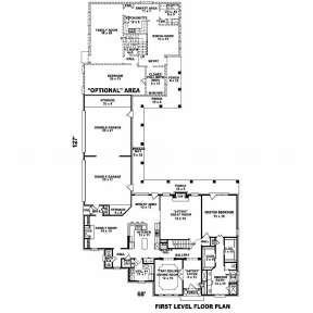 Floorplan 1 for House Plan #053-01777