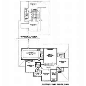 Floorplan 2 for House Plan #053-01777