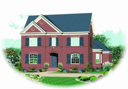 4 Bed, 3 Bath, 3709 Square Foot House Plan - #053-01794