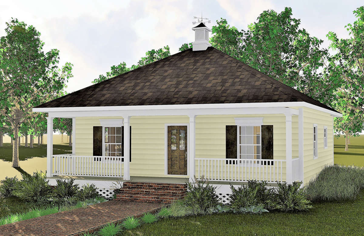 Cottage Plan 864 Square Feet 2 Bedrooms 1 Bathroom 1776 00002