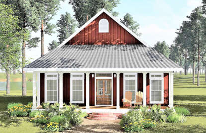 3 Bed, 1 Bath, 1292 Square Foot House Plan - #1776-00011