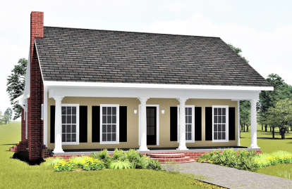 3 Bed, 2 Bath, 1485 Square Foot House Plan - #1776-00019