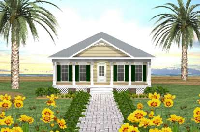 3 Bed, 2 Bath, 1587 Square Foot House Plan - #1776-00028