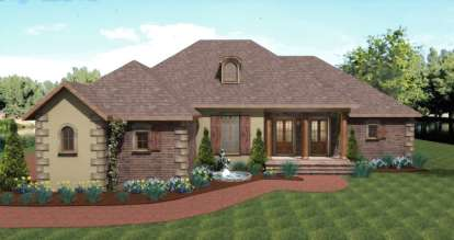 3 Bed, 2 Bath, 2197 Square Foot House Plan - #1776-00059