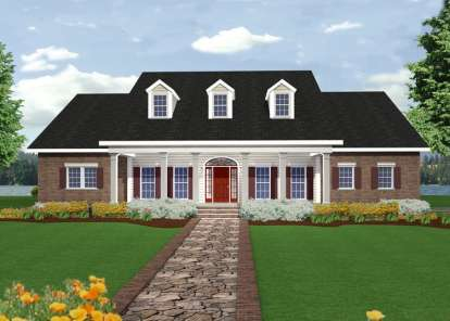 4 Bed, 3 Bath, 2668 Square Foot House Plan - #1776-00082