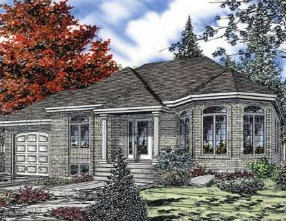 3 Bed, 1 Bath, 1187 Square Foot House Plan - #1785-00028