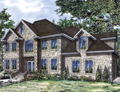 4 Bed, 2 Bath, 2770 Square Foot House Plan - #1785-00034