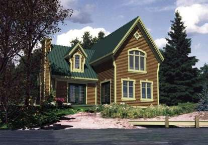 2 Bed, 1 Bath, 1120 Square Foot House Plan - #1785-00112