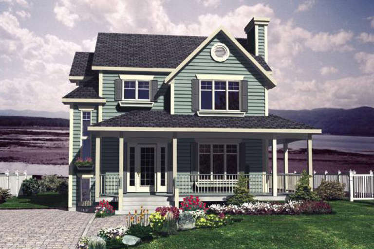 Country House Plan #1785-00119 Elevation Photo