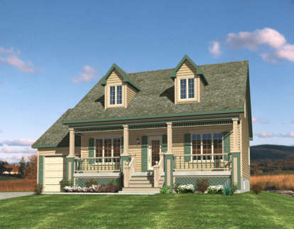 3 Bed, 2 Bath, 1565 Square Foot House Plan #1785-00130