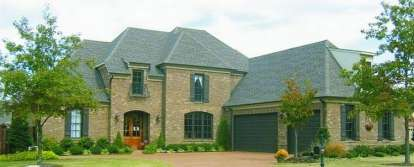 4 Bed, 3 Bath, 4369 Square Foot House Plan - #053-01840