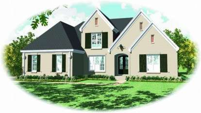 4 Bed, 3 Bath, 3155 Square Foot House Plan - #053-01842