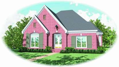 4 Bed, 3 Bath, 2951 Square Foot House Plan - #053-01879