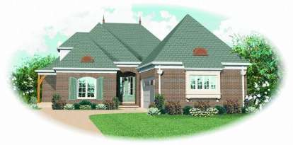 4 Bed, 3 Bath, 2954 Square Foot House Plan - #053-01881