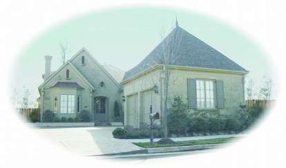 3 Bed, 3 Bath, 3207 Square Foot House Plan - #053-01888