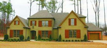 4 Bed, 4 Bath, 3515 Square Foot House Plan - #053-01925