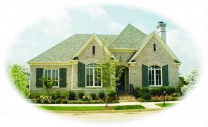3 Bed, 2 Bath, 2762 Square Foot House Plan - #053-01953