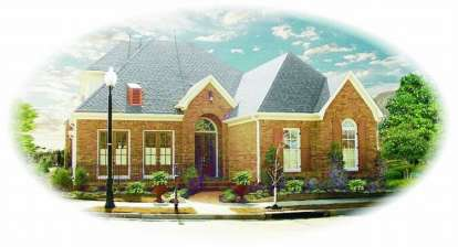 3 Bed, 3 Bath, 3302 Square Foot House Plan - #053-01956