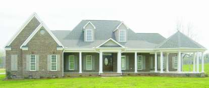 3 Bed, 2 Bath, 2775 Square Foot House Plan - #053-01963