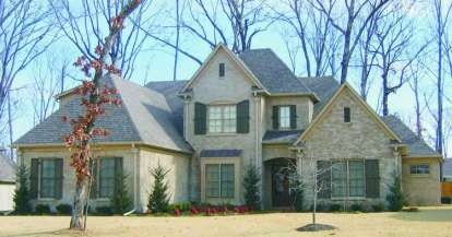 5 Bed, 4 Bath, 3809 Square Foot House Plan - #053-01973