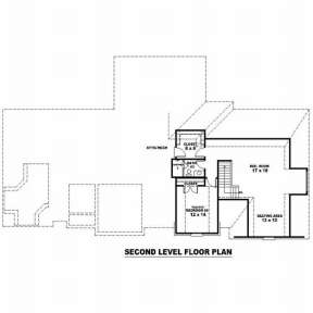 Floorplan 2 for House Plan #053-01988