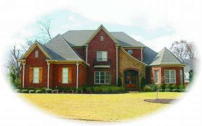 4 Bed, 4 Bath, 4687 Square Foot House Plan - #053-01994