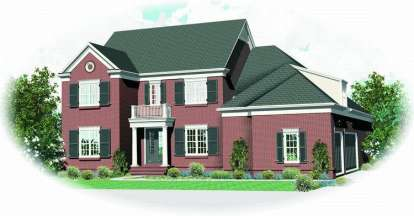 4 Bed, 4 Bath, 5233 Square Foot House Plan - #053-02003