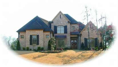 4 Bed, 4 Bath, 3913 Square Foot House Plan - #053-02035