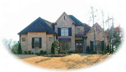 4 Bed, 4 Bath, 4313 Square Foot House Plan - #053-02036