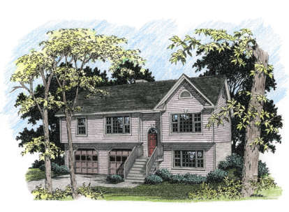 3 Bed, 2 Bath, 1579 Square Foot House Plan - #036-00029