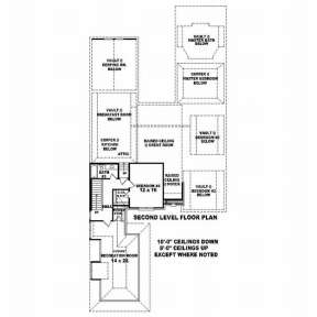 Floorplan 2 for House Plan #053-02074