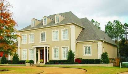 5 Bed, 4 Bath, 5352 Square Foot House Plan - #053-02081