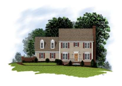 3 Bed, 2 Bath, 1595 Square Foot House Plan - #036-00031