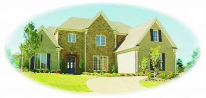 3 Bed, 3 Bath, 4496 Square Foot House Plan - #053-02089