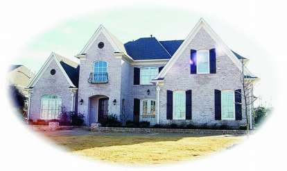 4 Bed, 4 Bath, 5200 Square Foot House Plan - #053-02096