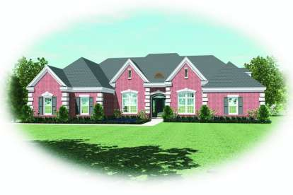 3 Bed, 3 Bath, 3078 Square Foot House Plan - #053-02100