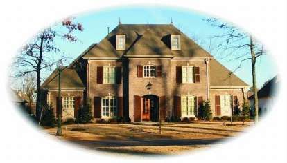 4 Bed, 4 Bath, 5101 Square Foot House Plan - #053-02120