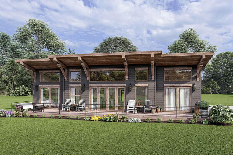 Modern House Plans Contemporary Home Floor Plan Designs